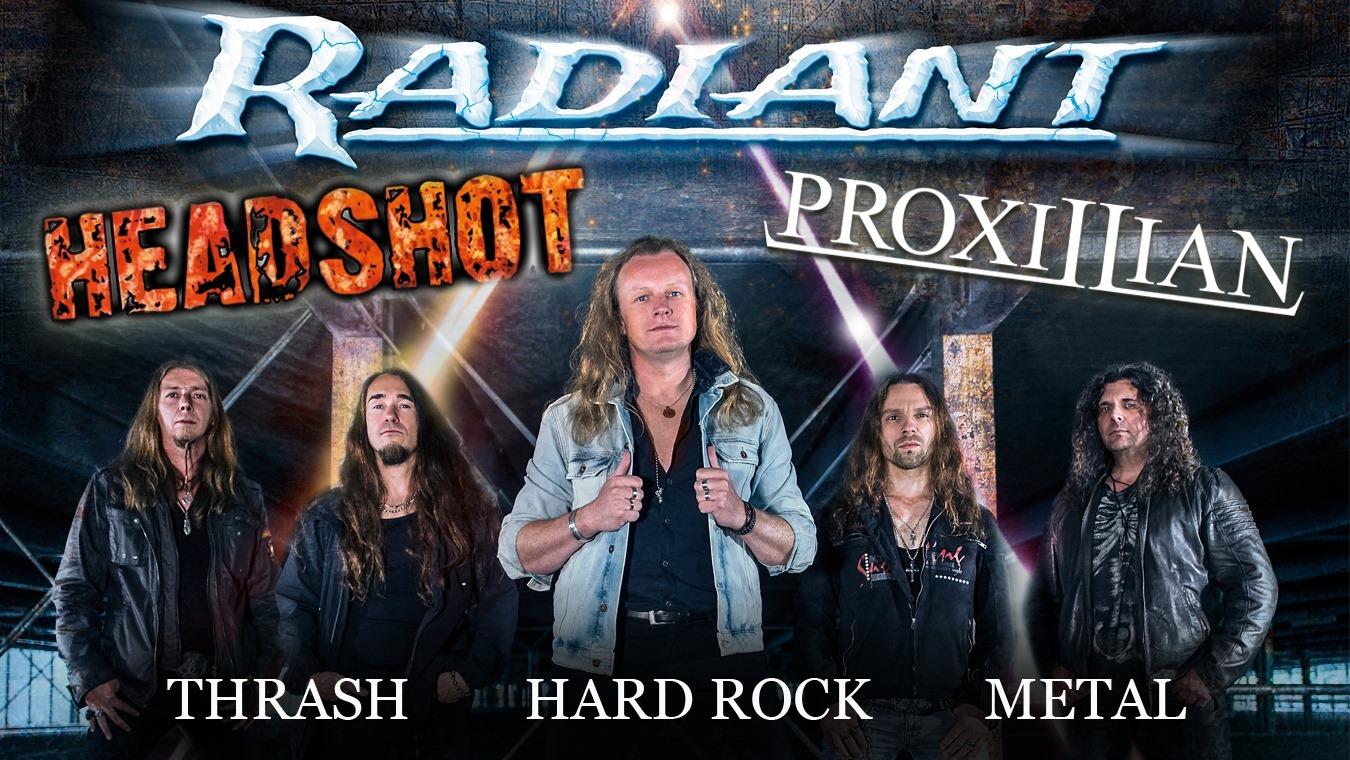 Headshot live am 23.11.2019 in Braunschweig