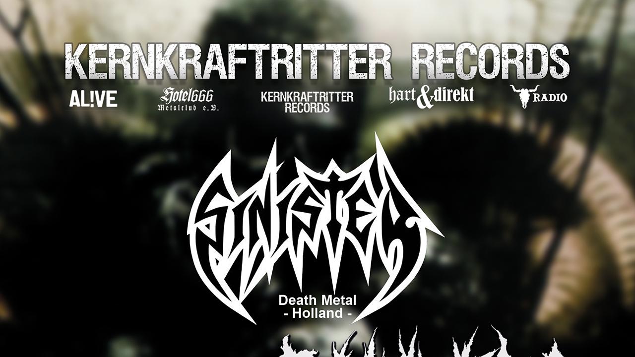 Sinister live am 14.11.20 im B58 in Braunschweig!