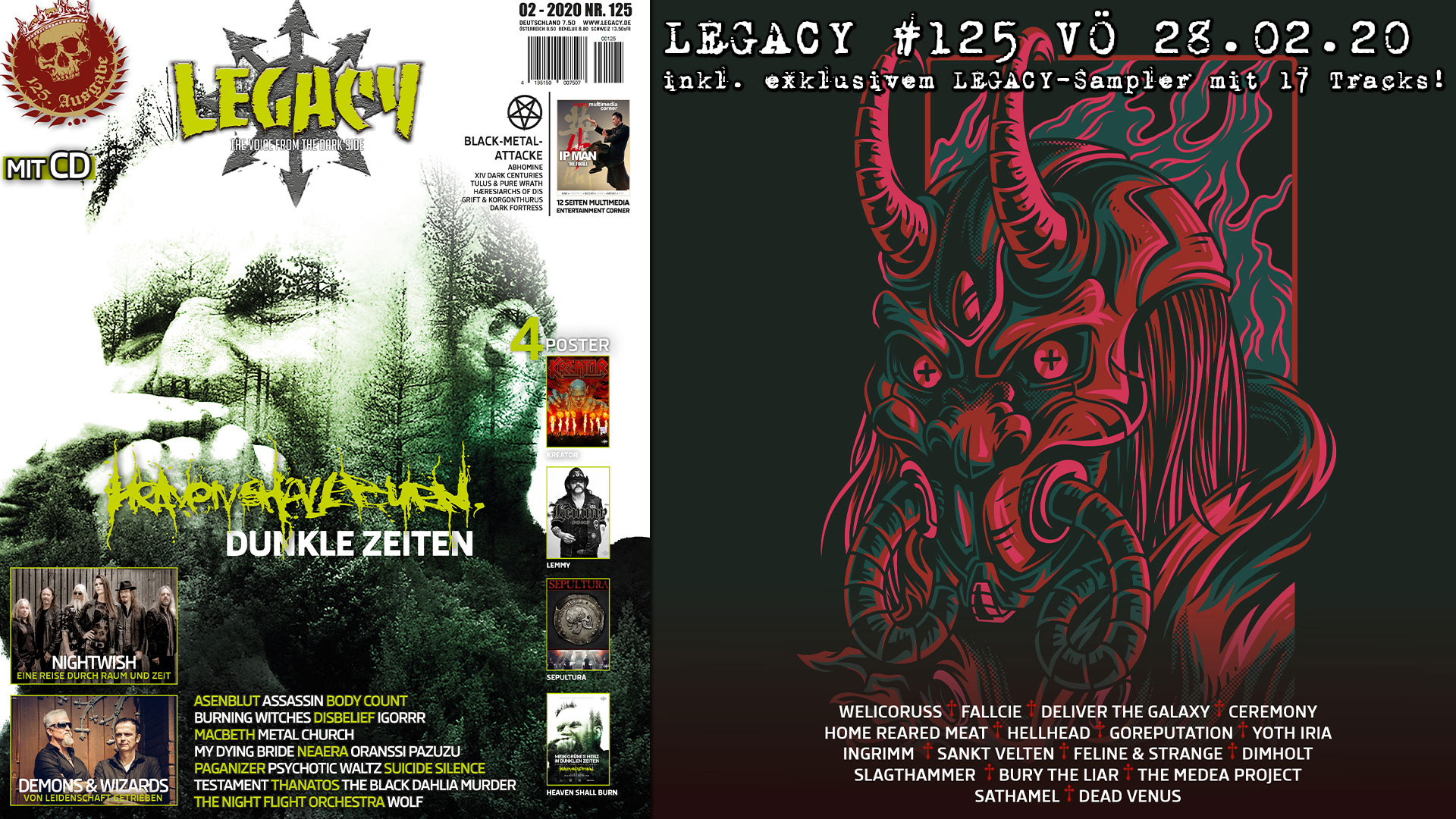 Legacy #125 ist erschienen mit Home Reared Meat Interview
