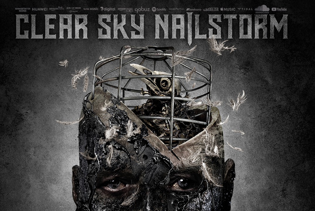 "Clear Sky Nailstorm ""The Deep Dark Black"""