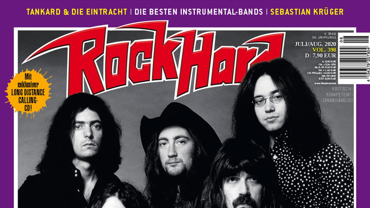 Rock Hard #398 erscheint heute…..