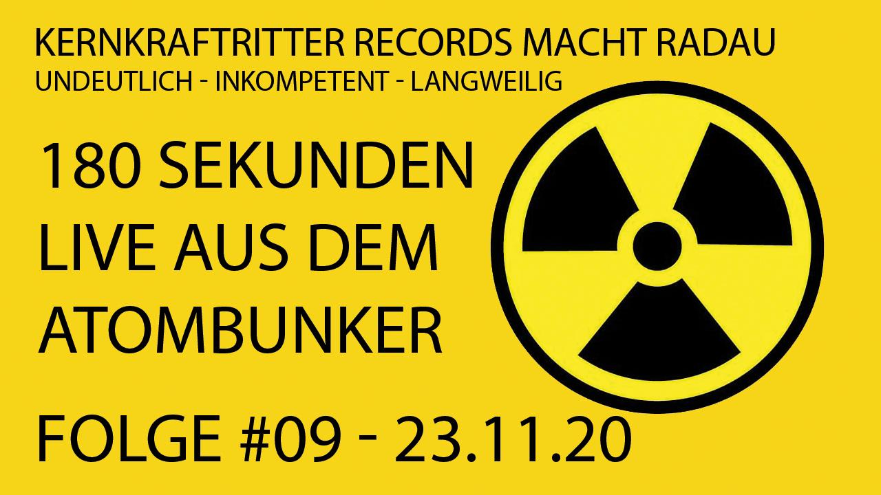 180 Sekunden KKR  #09 – 23.11.20