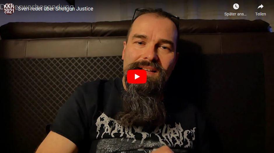 Sven redet über Shotgun Justice